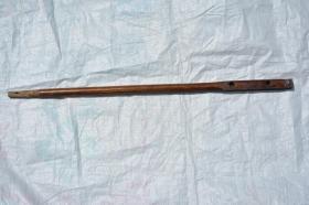几十年历史的 老木制二胡杆一根