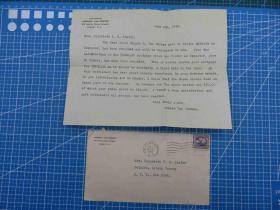 1919年6月6日美国实寄封贴邮票1枚、含信件(76)