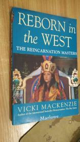 reborn in the west the reincarnation masters  英文原版書 轉世大師在西方重生