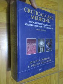Critical Care Medicine: Principles of Diagnosis and Management in the Adult  (THIRD EDITION)  大16开,精装,未开封
