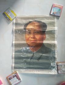 文革2开宣传画:四个伟大,毛主席万岁