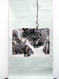 南京书画院副院长-曹钧--山水