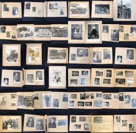 侵华史料 昭和15年~1940年日本军人照片集一册