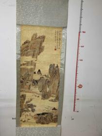 知名藏家委托,清早期陆逸作品一幅。