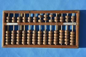 7080年代的 老珠算 算盘