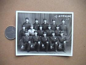 1971年解放军合影老照片