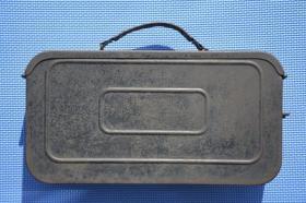 30 40年代 抗战时期 日本制造的 老铁箱