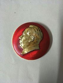 毛主席像章:毛主席万岁(中国人民解放军第69医院)