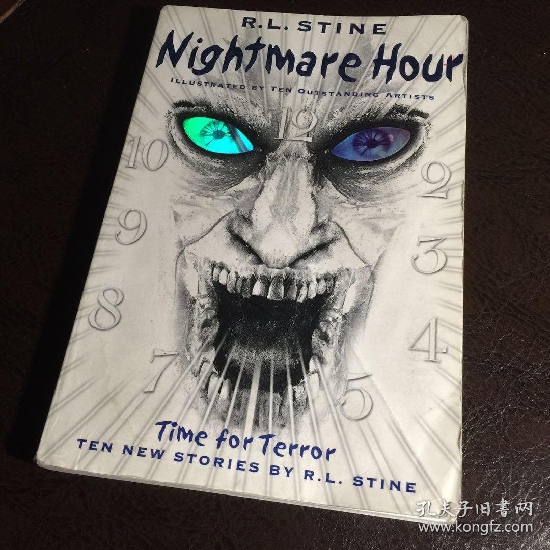 【英文原版小说】Nightmare Hour BY R.L. Stine