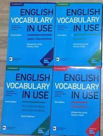 剑桥词汇英文原版全四册