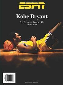 (ESPN封面: 科比·布莱恩特:不平凡的人生 1978-2020 Kobe Bryant:An Extraordinary life 1978-2020)2020年2月7日美国《ESPN》杂志,保真