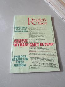 Readers Digest May 1982(英文原版读者文摘)