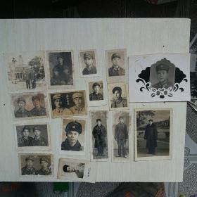 经典老照片16张合售……军人