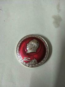 毛主席像章:毛主席万岁(6703部队)