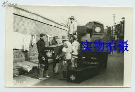 民国老上海民政红十字慈善机构----闸北区普善山庄--为上海闸北穷苦百姓收尸的团体工作老照片