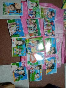 还珠格格明信片12张(附还珠格格续集之十函套)合售、