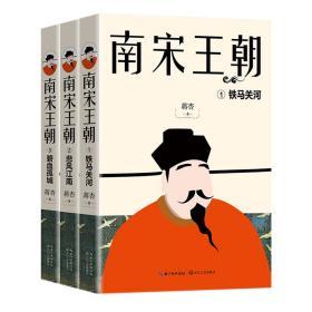 中国当代长篇历史小说:南宋王朝(全三册)1.铁马关河 2.悲风江南 3.碧血孤城9787570208456(248766)