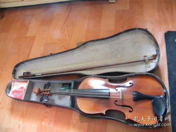 建国初期-永鸣乐器社出品:小提琴(李厚发监制)