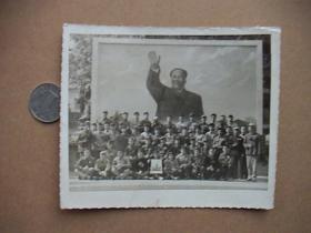 文革时期合影老照片