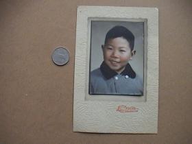 儿童彩色老照片