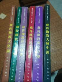 藏传佛教文化圈:藏传佛教大趋势:藏传佛教哲学境界:藏传佛教活佛转世:藏传佛教密宗奇观:藏传佛教大师生涯:共六本合售