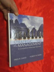 Strategic Management: A Competitive Advantage Approach, Concepts and Cases(16th Edition)    (大16开,硬精装 ) 【详见图】