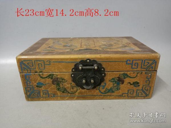乡下收的清代漆器首饰盒