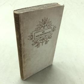Mosher珍品:In Memoriam 丁尼生诗集 《悼念》几乎全新  限量925册