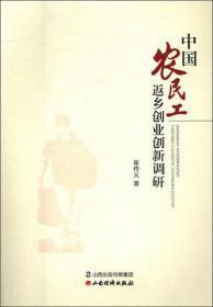 中国农民工返乡创业创新调研 专著 崔传义著 zhong guo nong min gong fan xiang chuang