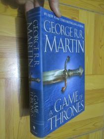 A Game of Thrones (A Song of Ice and Fire, Book 1)    小16开,精装