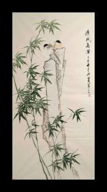 许墨  136*68  竹子