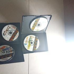堕落天使 游戏光盘(4CD)带原盒 走快递