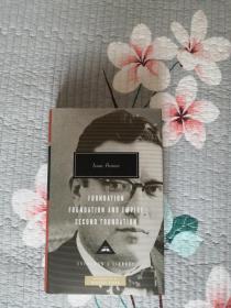 Foundation Trilogy:Foundation/Foundation and Empire/Second Foundation 基地三部曲:基地/基地与帝国/第二基地 Isaac Asimov 艾萨克·阿西莫夫 everymans library 人人文库 英文原版 布面精装 全网最全卖家,私藏300多种,不会虚假夸大宣传;全网最低价包邮