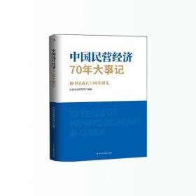中国民营经济70年大事记:新中国成立70周年献礼