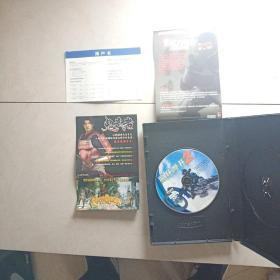 游戏光盘   疯狂摩托2    1CD+用户卡十2张小彩页看图  带原盒走快递