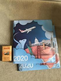 2020年台历  美国航空