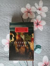 Canterbury Tales 坎特伯雷故事集 Geoffrey Chaucer 杰弗雷·乔叟 everyman's library 人人文库 英文原版 布面封皮琐线装订 丝带标记 内页无酸纸可以保存几百年不泛黄 私藏350余种,孔网最全卖家