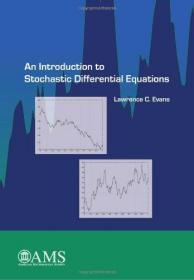 An Introduction to Stochastic Differential Equations  英文原版 随机微分方程引论 随机微分方程导论 Lawrence C. Evans