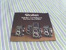 Rollei ( Rollei fles. Rollei corod.The Twin-lens Rolleis)禄来(禄莱)系列相机说明书
