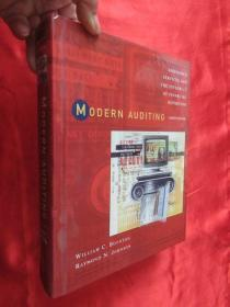 Modern Auditing: Assurance Services and the Integrity of Financial Reporting     ( 大16开 ,硬精装 ) 【详见图】,缺盘