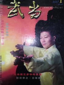 绝版杂志:武当2007年1~12期 全
