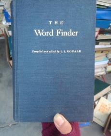 THE Word Finder 英语修词词典 英文版(精装版,16开本,内页干净无笔划。)