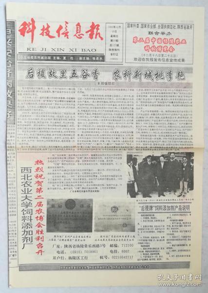 科技信息报,1995年