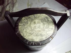 古代学子进京赶考拎的点心匣子