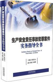 9787509399804-ha-生产安全责任事故犯罪案件实务指导全书