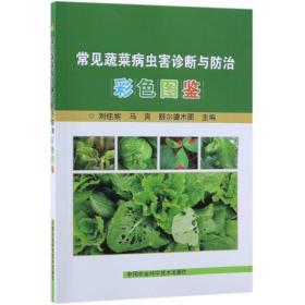 常见蔬菜病虫害诊断与防治彩色图鉴