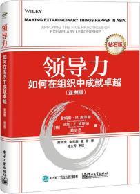 领导力:如何在组织中成就卓越(亚洲版)