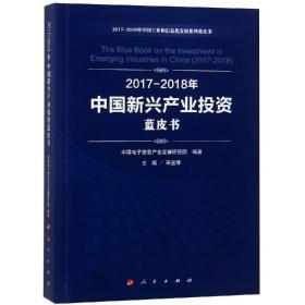 2017-2018年 中国新兴产业投资蓝皮书9787010199030