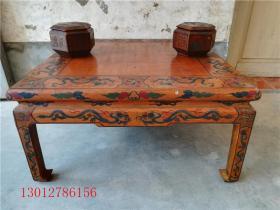 古董古玩漆器 清代围棋桌一套
