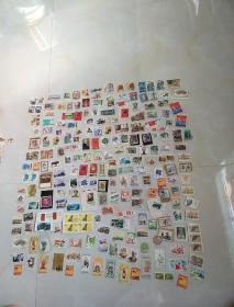 邮票一堆(信销票大约216枚)